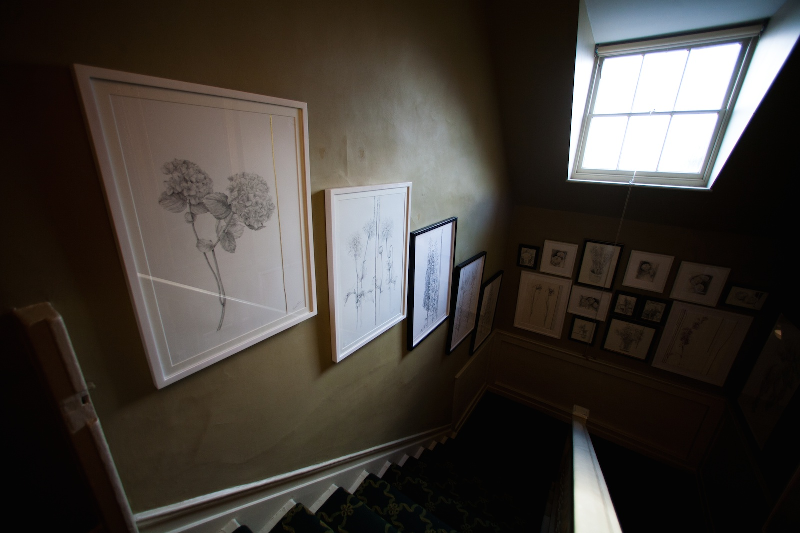 Linear Collections, National Trust Fenton House, Hampstead, 2012, photographer: Jo Castle